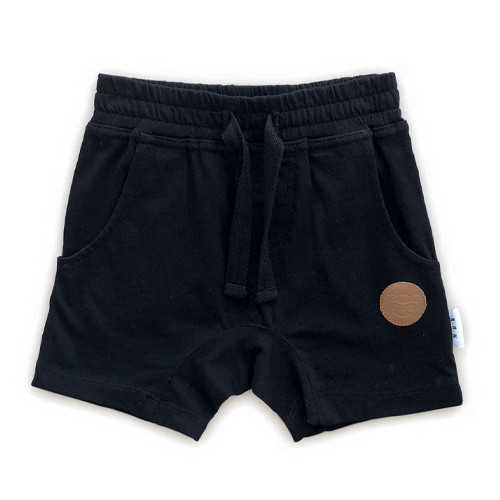 Slouch Shorts, Black