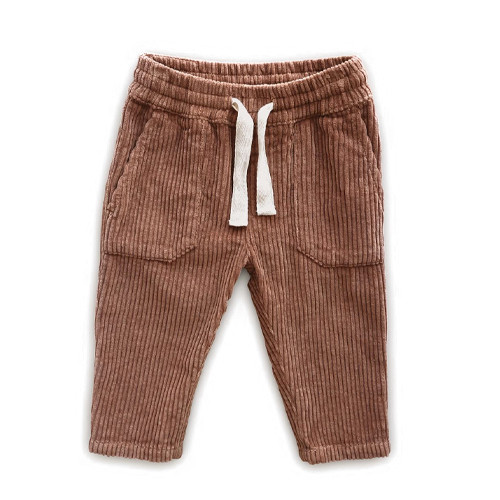Cord Pocket Pant, Terracotta