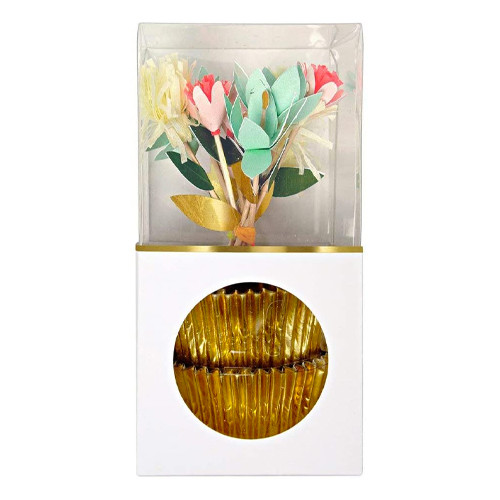 Flower Bouquet Cupcake Decorating Kit