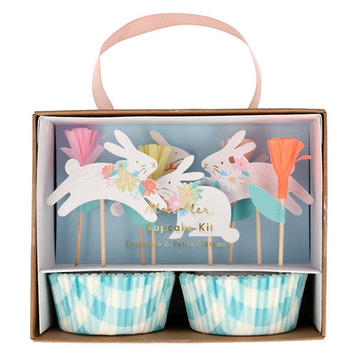 Spring Bunny Cupcake Decorating Kit