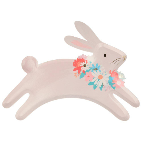 Spring Bunny Party Plates