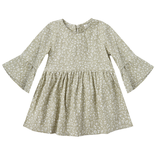 Rylee & Cru Bell Dress, Sage Garden