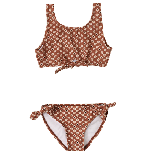 Rylee & Cru Knotted Bikini, Flower Power