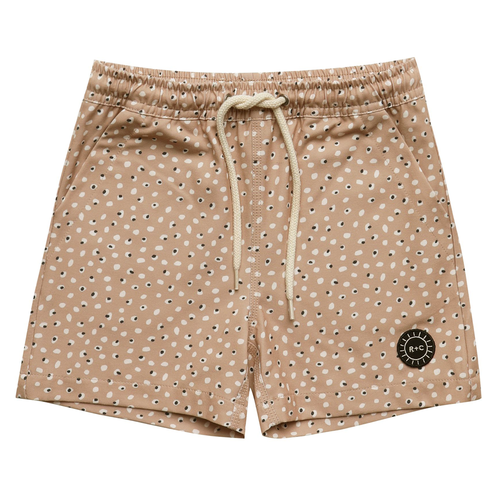 Rylee & Cru Long Swim Trunk, Dotty
