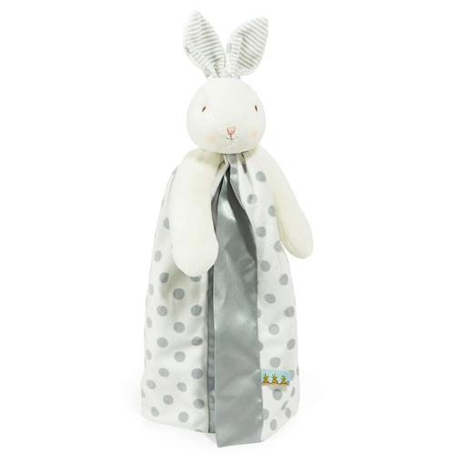 Bloom Polka Dot Bunny Buddy Blanket, Silver