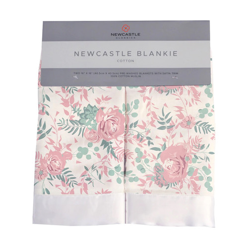 2-Pack Security Blankies, Desert Rose