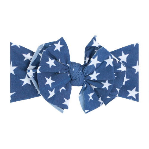 FAB-BOW-LOUS Bow, Blue Star