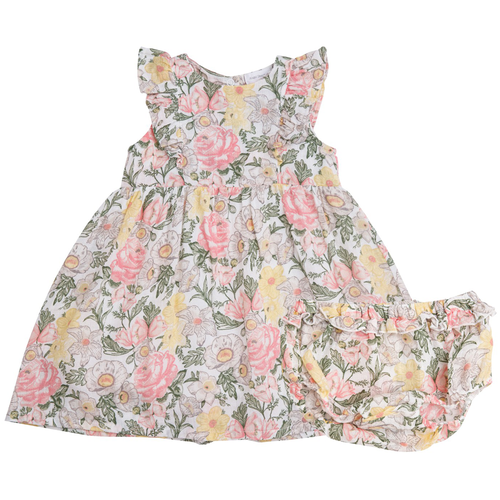 Dress & Bloomer Set, Vintage Floral