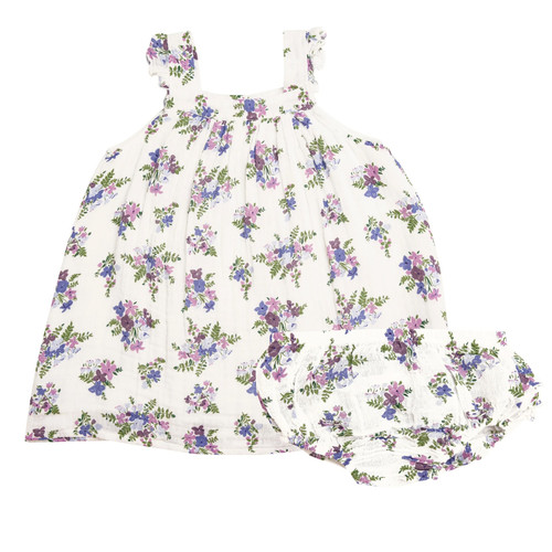 Dress & Bloomer Set, Lily of the Valley