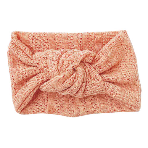 Twist Knot Headband, Apricot