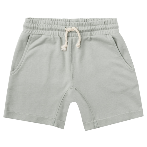 Rylee & Cru Terry Sweat Short, Blue Fog