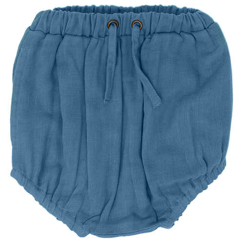Organic Muslin Shorties, Pacific