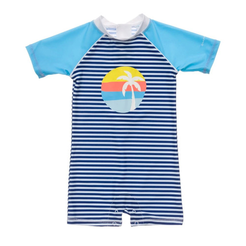 SS UV Suit, Retro Sunset Stripe