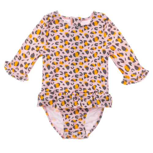 Leopard Love Surf Suit