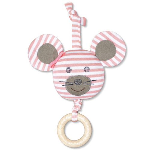 Organic Waggle Toy, Ballerina Mouse