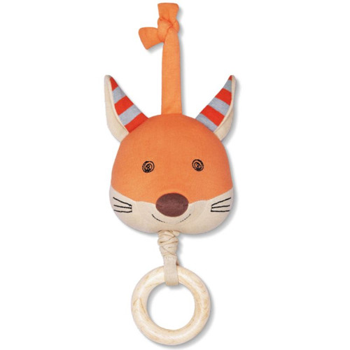 Organic Waggle Toy, Frenchy Fox