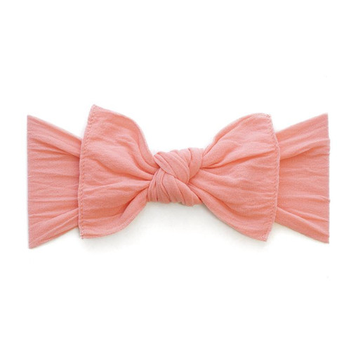 Knot Bow, Coral