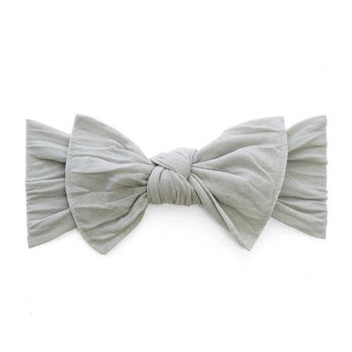 Knot Bow, Grey