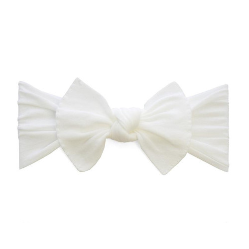 Knot Bow, White