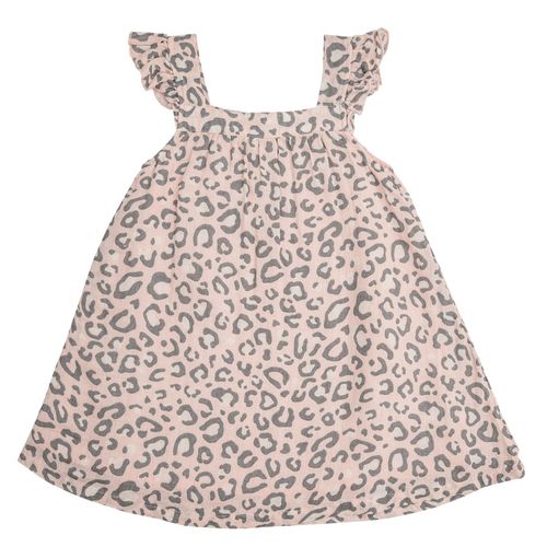 Sundress, Pink Leopard