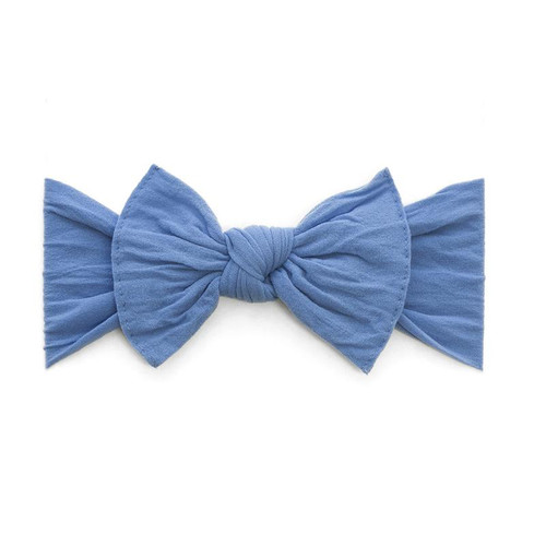 Knot Bow, Denim