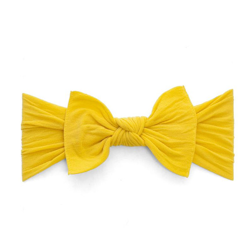 Knot Bow, Mustard
