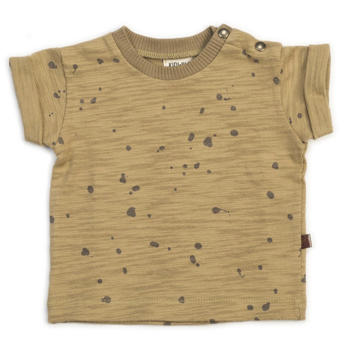 Organic Tee, Splatter Honey