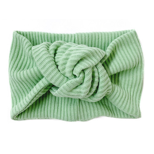 Twist Knot Headband, Mint