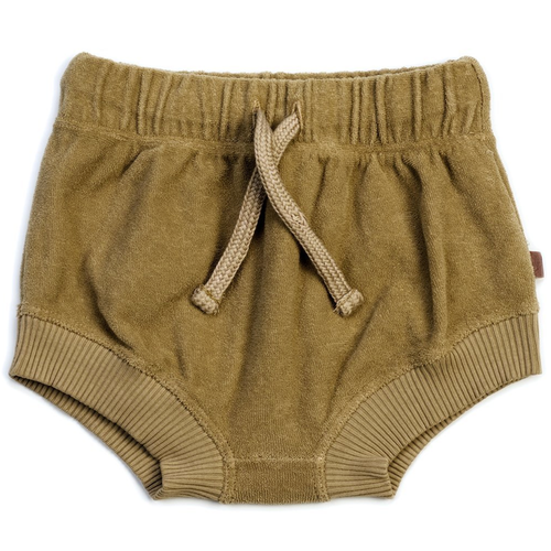 Organic Terry Bloomers, Olive
