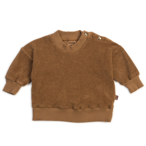 Organic Terry Sweatshirt, Brick