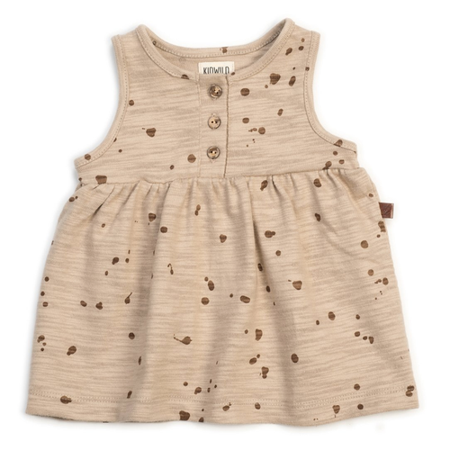 Organic Tank Dress, Splatter