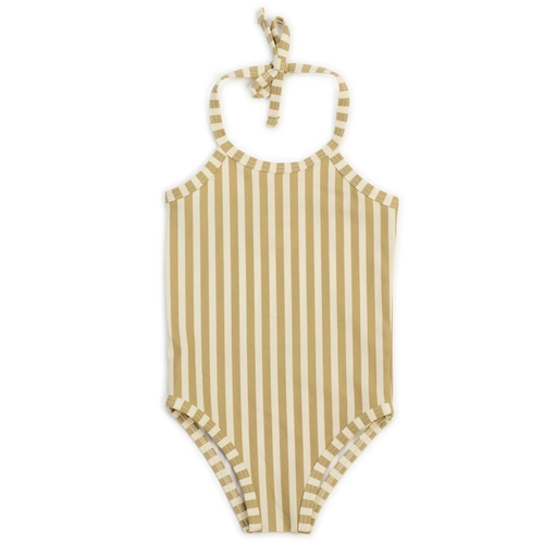 One Piece Swimsuit, Stripe Honey