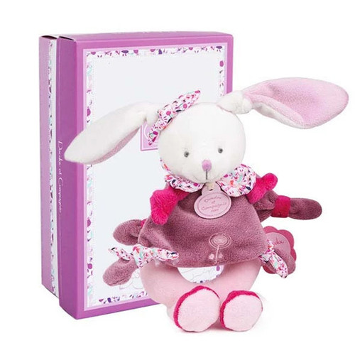 Cherry the Bunny Baby Rattle