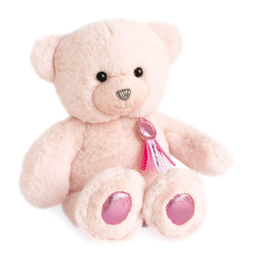 Charms Teddy Bear Plush, Pink