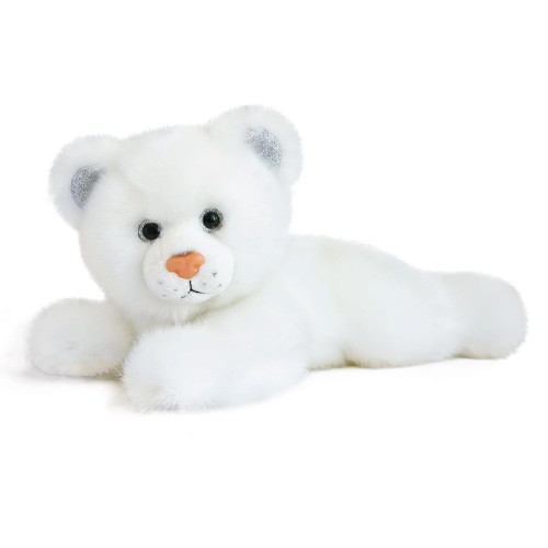 White Panther Plush