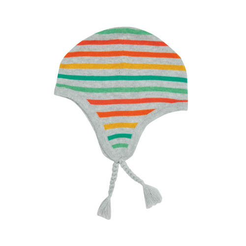 Pilot Hat, Rainbow Stripe