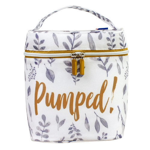 Leaves Insulated Bottle Bag, Pumped