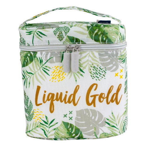 Rainforest Insulated Bottle Bag, Liquid Gold