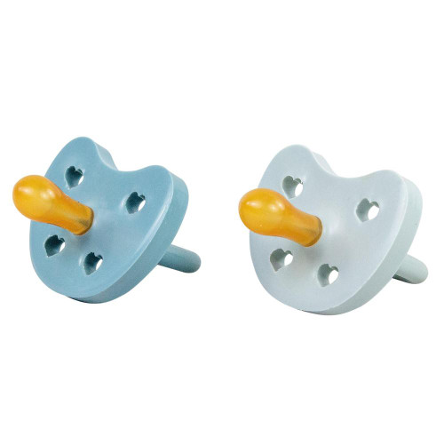 Natural Pacifier 2-Pack, Blueberry/Oyster