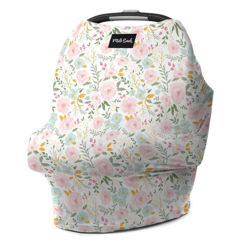 Milk Snob Car Seat Cover, Blooming Bouquet
