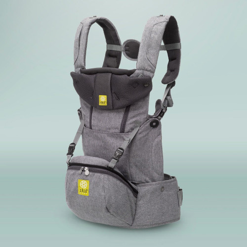 LÍLLÉbaby® SeatMe All Seasons Baby Carrier, Heathered Grey