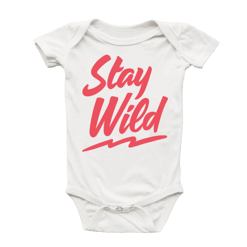 Graphic Bodysuit, Stay Wild