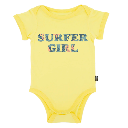 Graphic Bodysuit, Surfer Girl