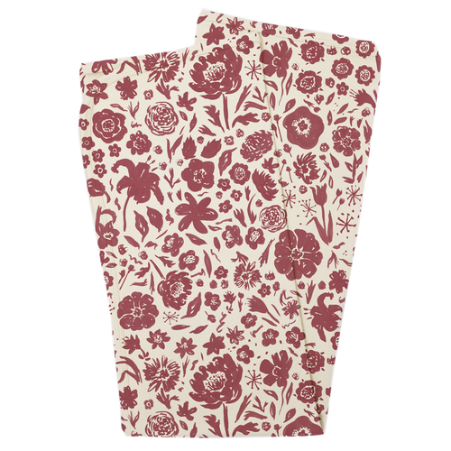 Organic Swaddle Blanket, What in the Carnation Beige