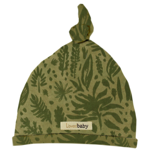 Organic Knotted Hat, Get Clover It! Sage