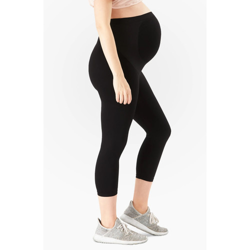 BELLY BANDIT® Bump Support Capri Leggings, Black
