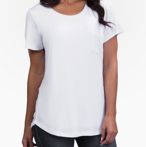 BELLY BANDIT® Perfect Nursing Tee, White