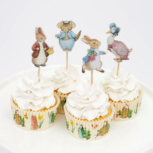 Peter Rabbit & Friends Cupcake Picks