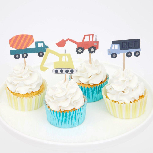 Construction Cupcake Decorating Kit