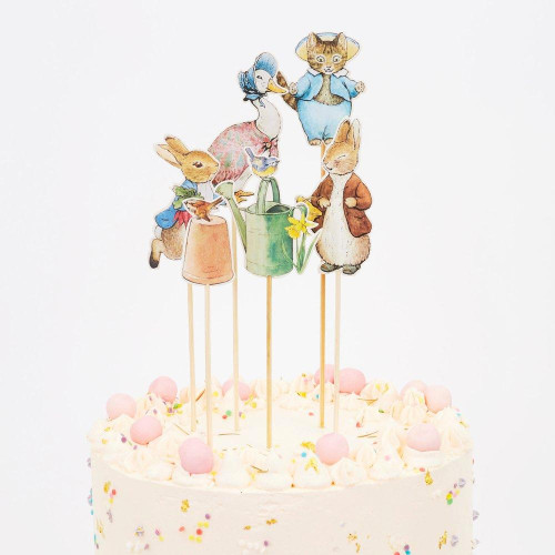 Peter Rabbit & Friends Cake Topper